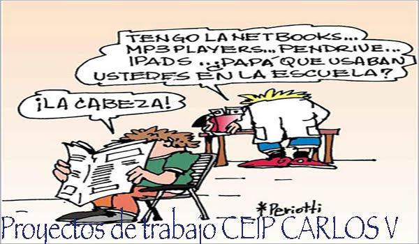 Proyectos de Trabajo: CEIP CARLOS V