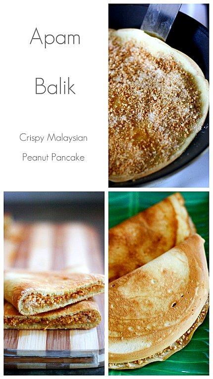 Apam Balik (Peanut Pancakes) 2 | Malaysian Recipes