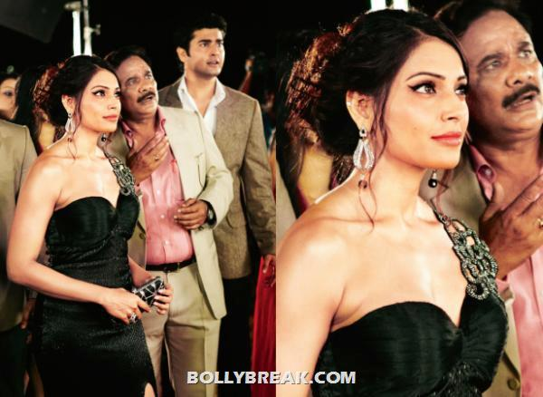 Bipasha Basu black dress Raaz 3 - (3) - Raaz 3 Stills - Bipasha Basu, Eisha Gupta