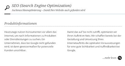 """Euroweb-Werbung:  """"...optimieren wir Ihren Auftritt im Netz"""""""