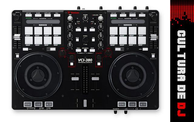 Controlador Vestax VCI-380