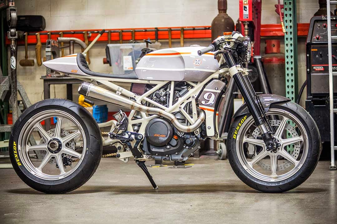 KTM 690 CafeMoto by Roland Sands Design. title=