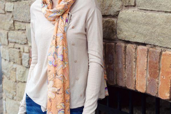 Parfois scarf outfit