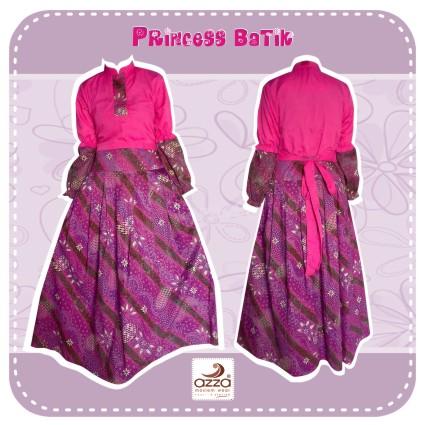 Muslimah Boutique Gamis Azza Batik Princess