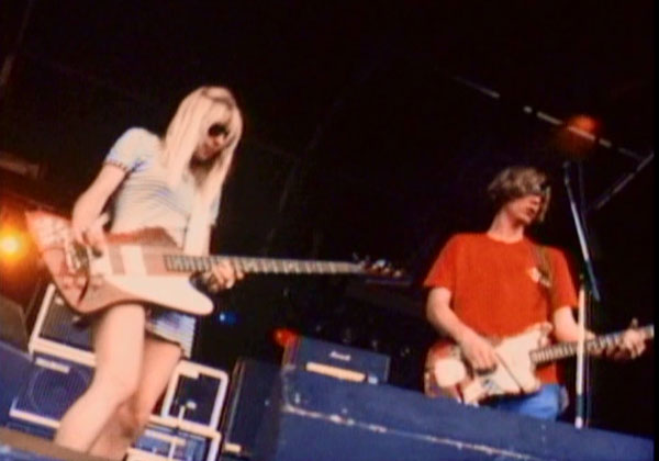 Kim Gordon and Thurston Moore of Sonic Youth in 1991 - The Year Punk Broke