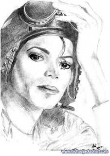 a desenhar Michael Jackson colorir