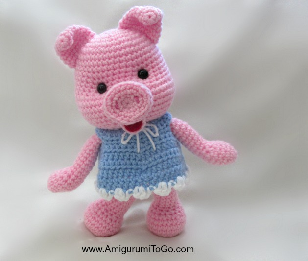 Dress Up Pigs Free Pattern ~ Amigurumi To Go