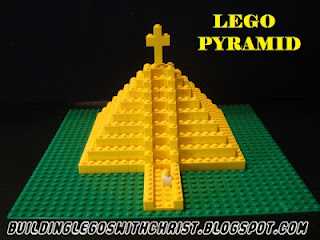 LEGO Pyramid, Homeschooling with LEGOS, Mexico Pyramids