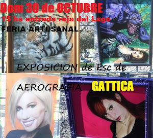 Reja del Arte 2011 Muestra de escuela de Aerografia GATTICA