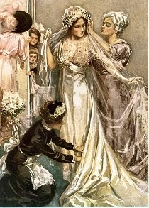 WEDDING CARDS / THE BRIDAL GOWN