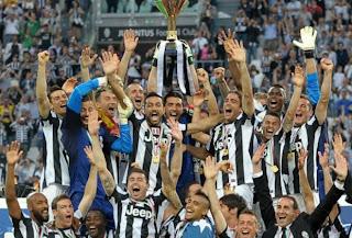 turim celebra o campeonato italiano em 2013