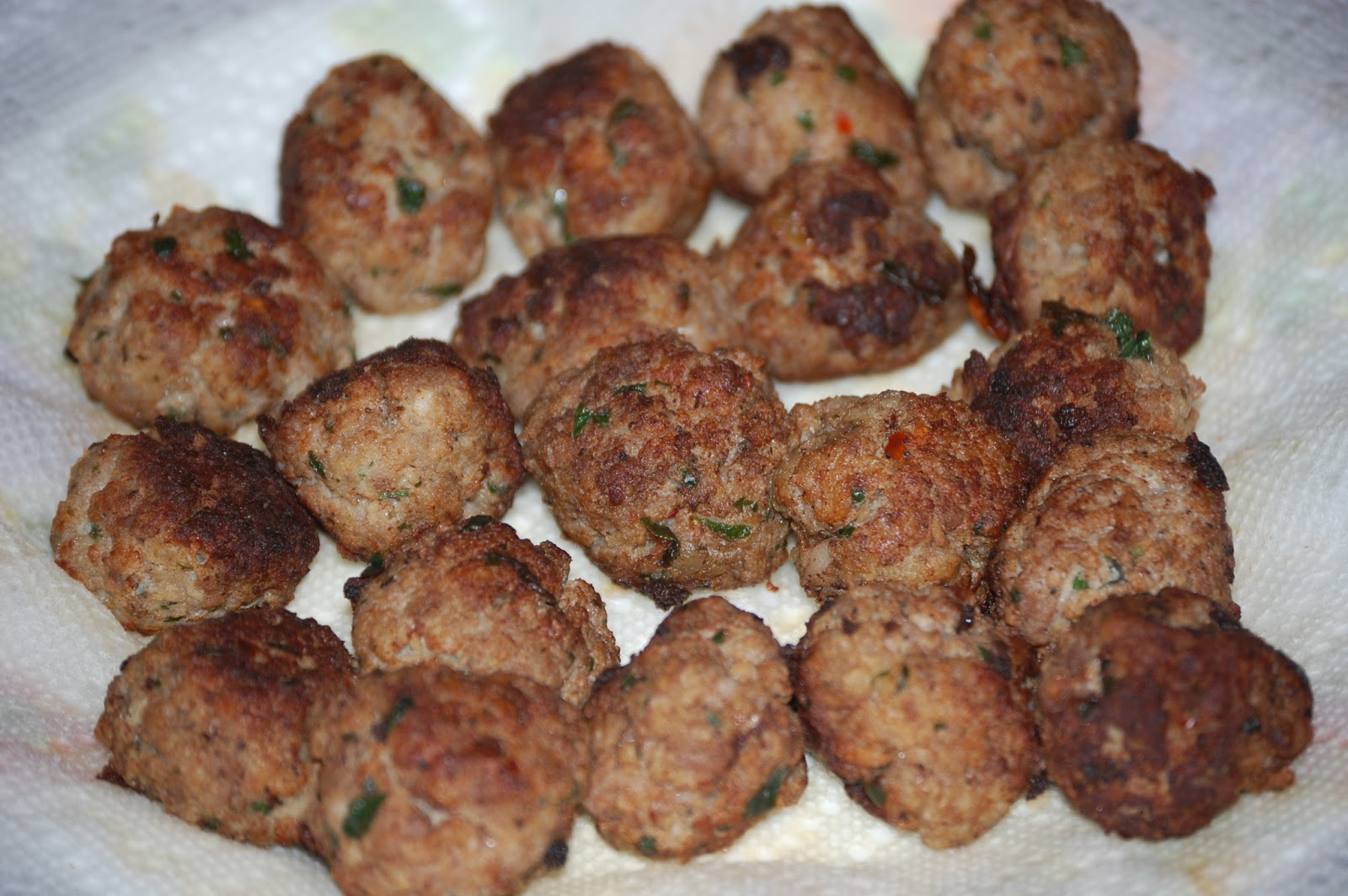 Make and share this authentic italian meatballs recipe from food com