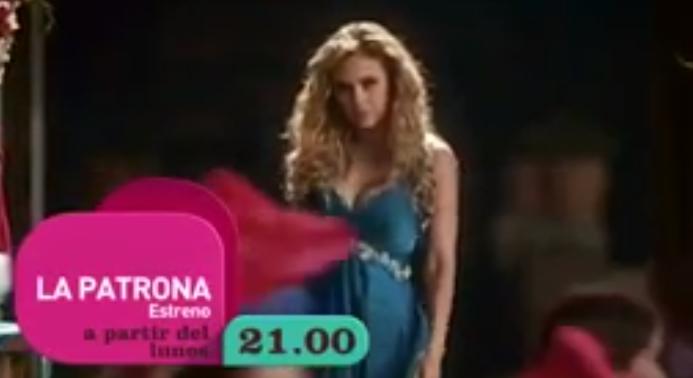 las 9:00 de la noche (21 horas) será el estreno de ¨La Patrona ...