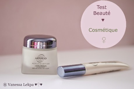 blog beauté : test cosmétique anti age perle et caviar institut arnaud
