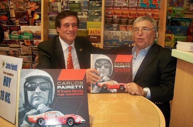 Carlos Pairetti presentó su libro en la Rural