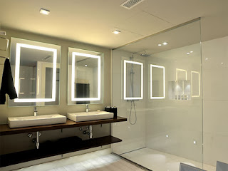 New ways of lighting the bathroom