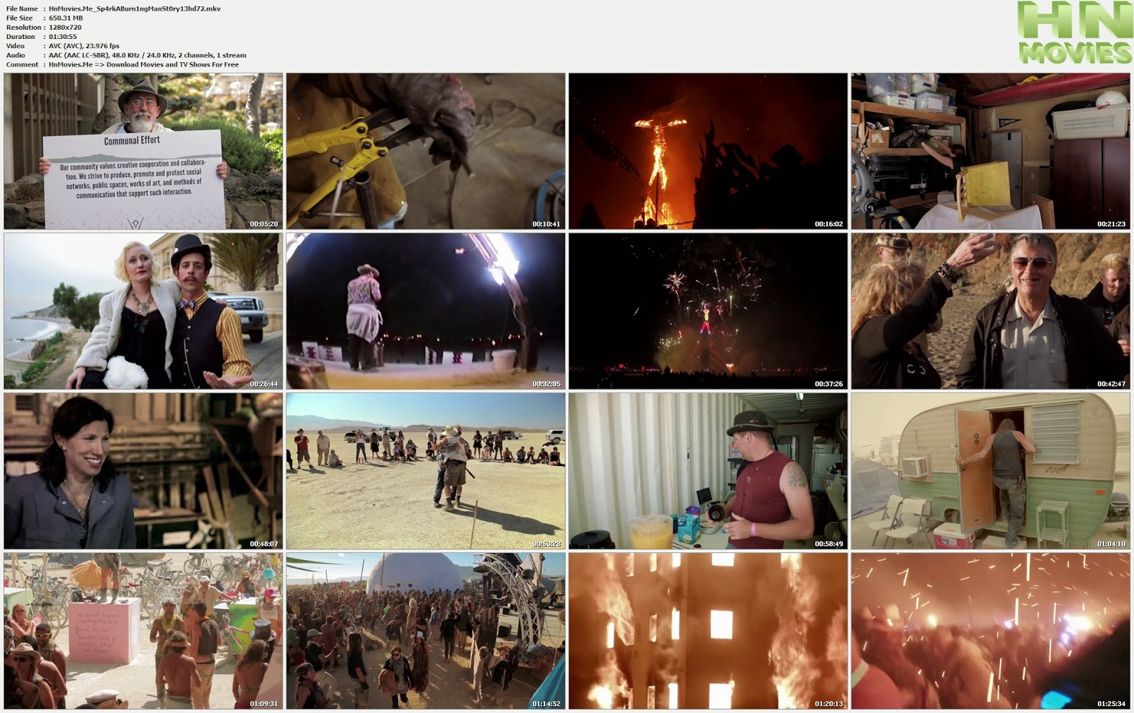 Spark: A Burning Man Story (2013) 720p HDTV 600MB