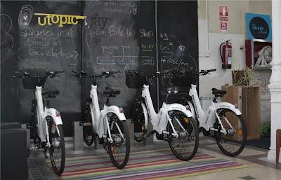 Aparcamiento de bike-sharing de Utopic US