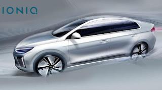 Hyundai Ioniq (2017 Rendering) Side