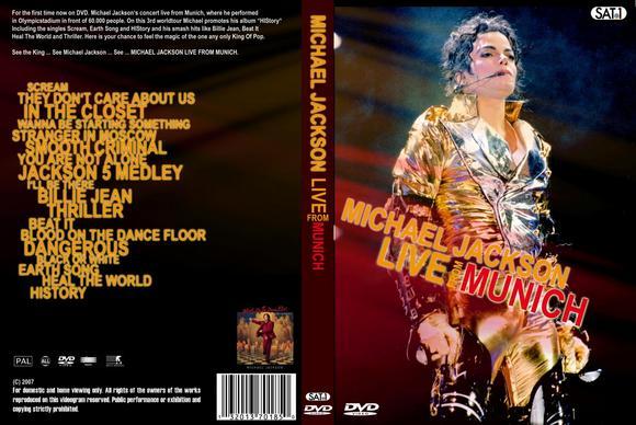 Michael Jackson History World Tour Munich Germany  Dvd