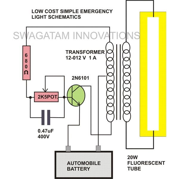 Emergency Light Circuit Diagram on light ballast wiring 8 get free image about