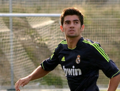 Enzo Zidane with Real Madrid jersey