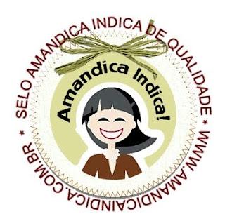 Selo Amandica Indica de Qualidade!
