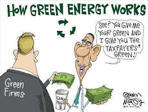 """President Obama's """"Green"""" Energy Agenda"""