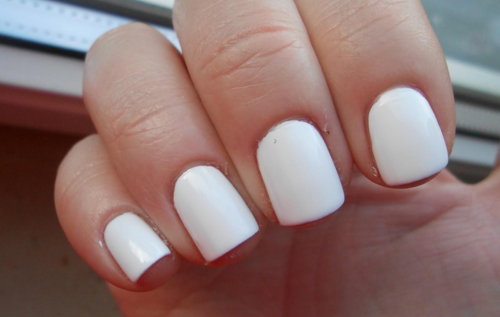 Essence Gel Nail Polish White