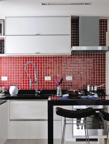 Azulejista: Cozinha com pastilhas.Como decorar cozinha com pastilhas