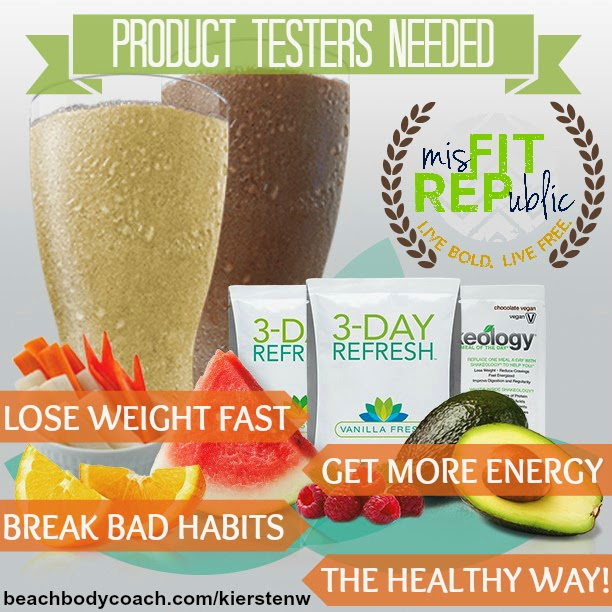 3-Day Refresh www.beachbodycoach.com/kierstenw