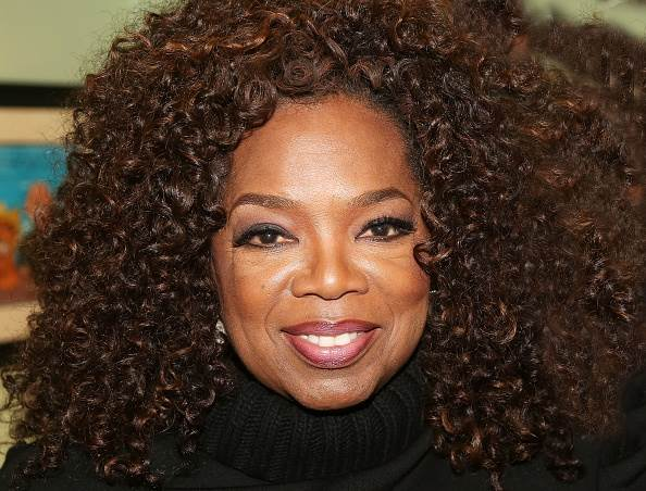 Oprah talked to More FM's Si and Gary about fame, loneliness and vulnerability. / Getty