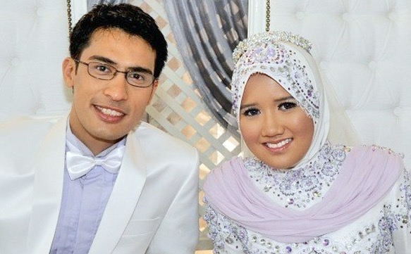 Gambar bayi lelaki isteri Ashraf Muslim, Noor Dayana