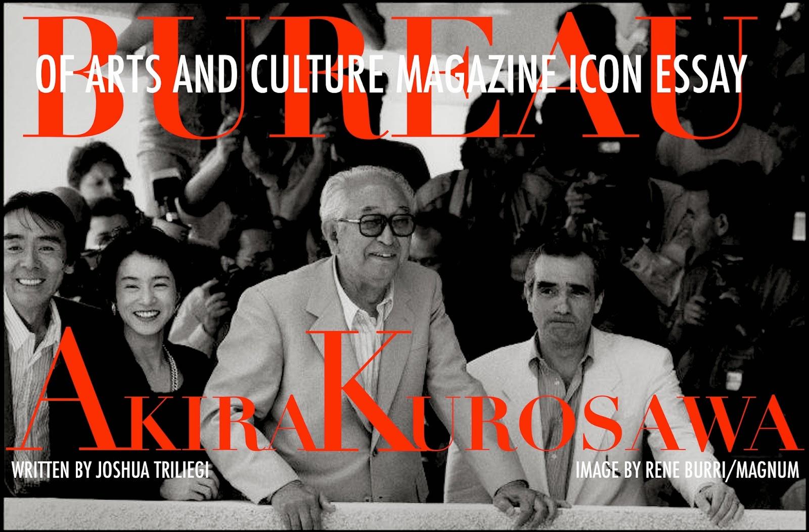 ICON : AKIRA  KUROSAWA