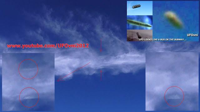 Mexique : OVNI Invisible en forme de cigare capturé sur Ruines Château Tulum, le mai 2015
