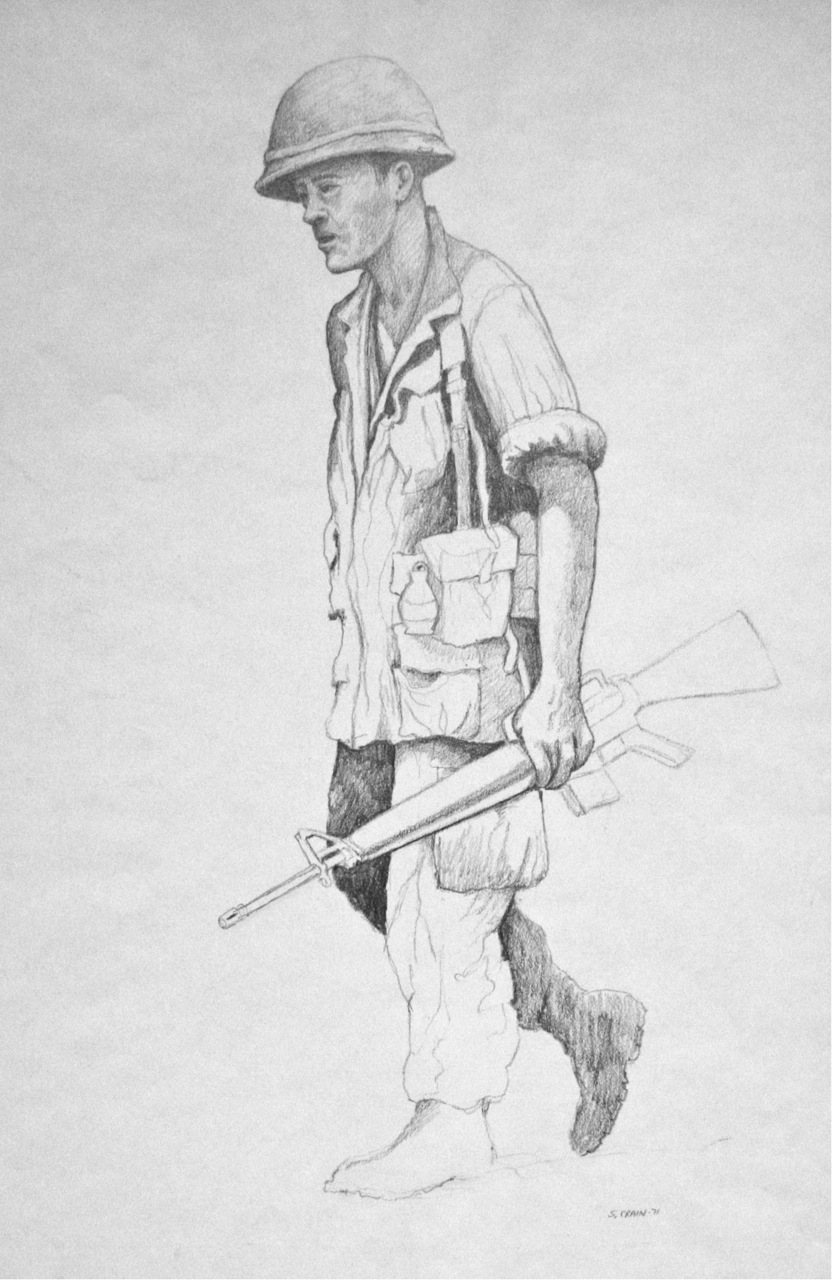 vietnam drawings  various sketches and watercolors
