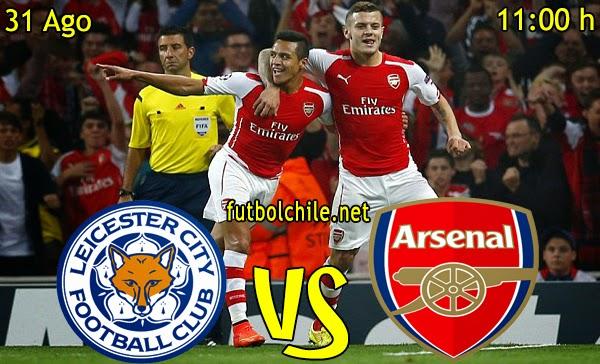 Leicester vs Arsenal - Premier League - 11:00 h - 31/08/2014