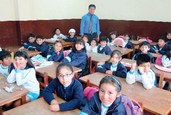 Estadísticas de educación en Bolivia