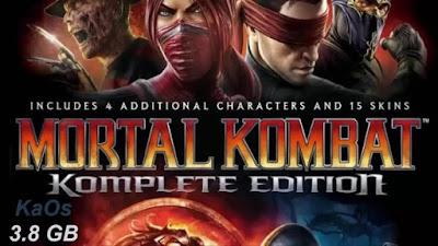 Free Download Game Mortal Kombat Komplete Edition Pc Full Version – Full Rip – KaOs – Multi Links 2015 – Direct Link – Torrent Link – 3.80 GB – Working 100% .