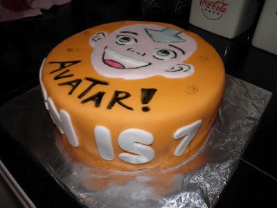 katys kreative cakes avatar   airbender