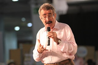 Prof Robert Winston offering advice