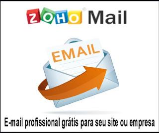 Zoho mail- E-mail profissional grátis para seu site ou empresa