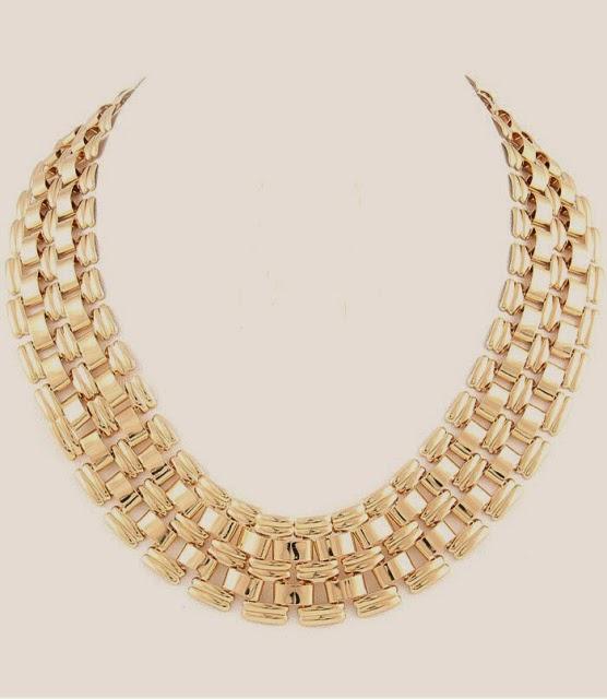 Ladiesfashionsense.com Chain Link Choker/Collar