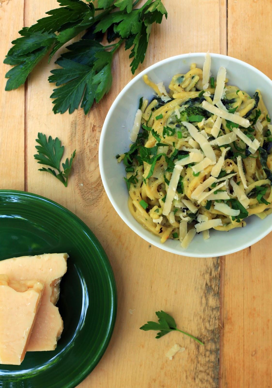 One Pot Pasta Verde