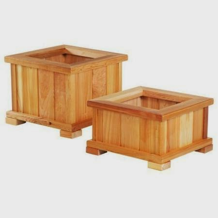 planter box  kayu