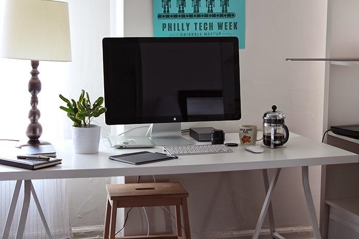 Creative Desk and Workspace Tour - HelloBrio.com