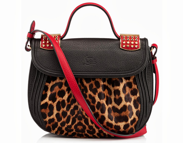 Louboutin Leopard Handbag