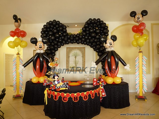 Decoraciones Fiesta Mickey & Minnie