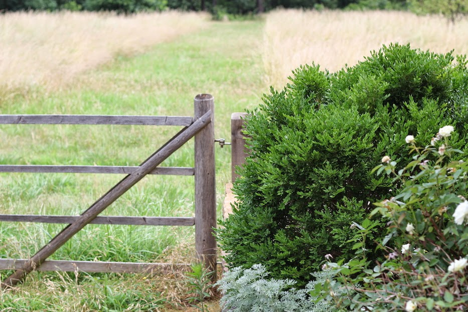 #farm2home14 P.AllenSmith GardenHome ArkansasGrown a simple gate (c)nwafoodie
