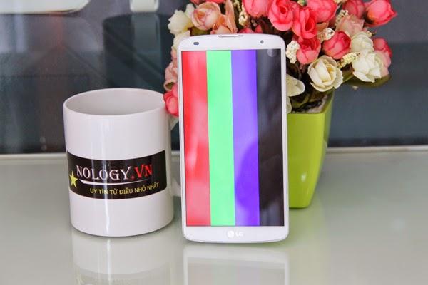 test máy LG G Pro 2
